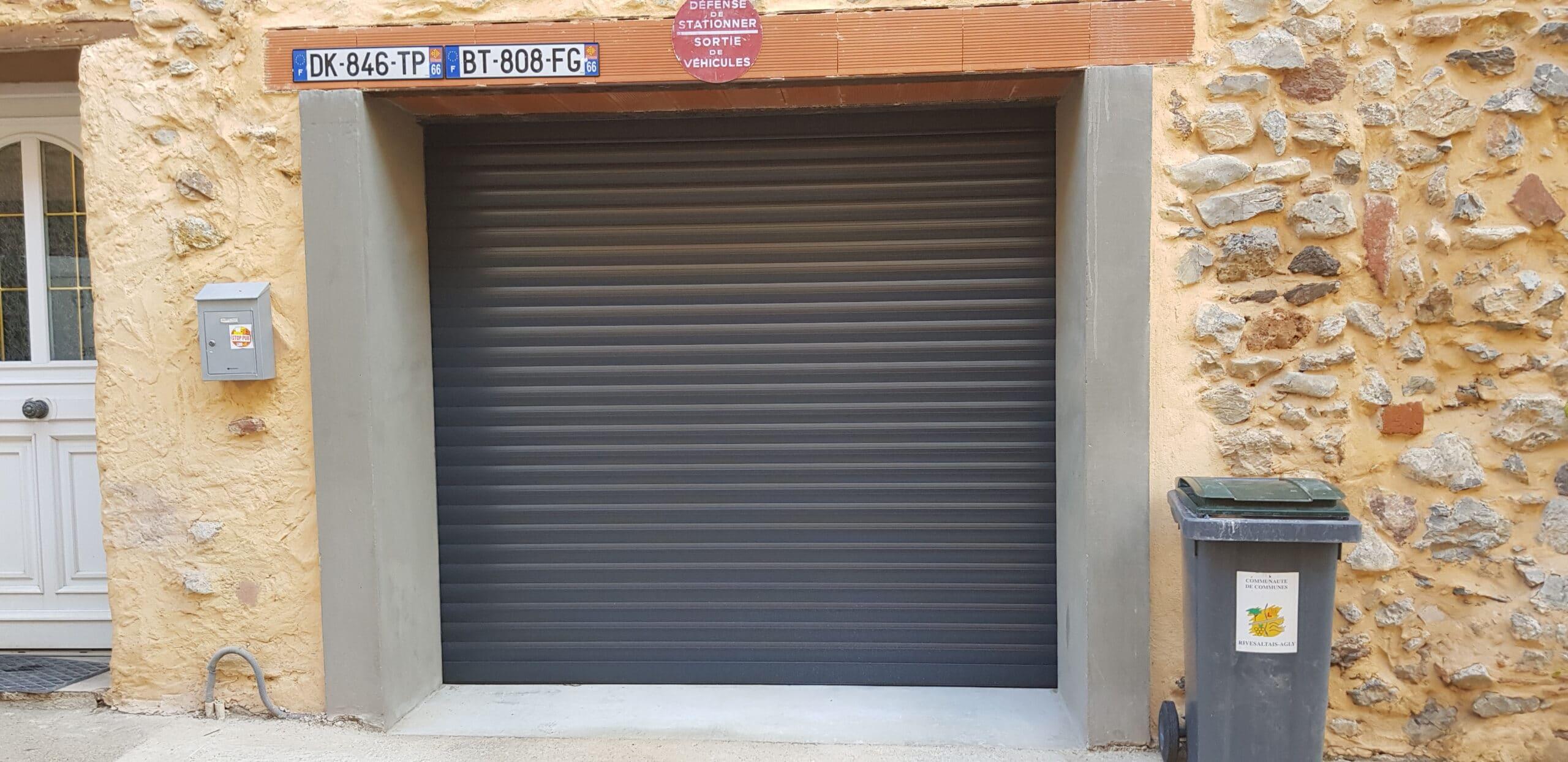 Menuiseries extérieures - Portes de garage enroulable
